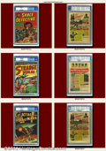 Golden Age (1938-1955):Horror, Avon Comics Group (Avon, 1950s). A nice mix of pre-code comics,this lot contains books from the horror, crime, science fict...(Total: 6 Item)