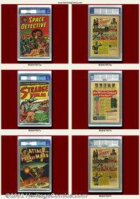 Avon Comics Group (Avon, 1950s). A nice mix of pre-code comics, this lot contains books from the horror, crime, science...