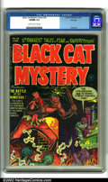 Golden Age (1938-1955):Horror, Black Cat Mystery #36 File Copy (Harvey, 1952). A creepy pre-codehorror title with outstanding artwork by Bob Powell. This ...