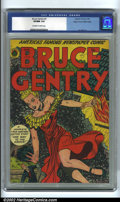 Golden Age (1938-1955):Adventure, Bruce Gentry #3 Mile High pedigree (Superior, 1949). Known for its great Jack Kamen covers, Bruce Gentry revels in chees...