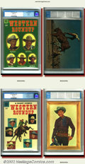 Golden Age (1938-1955):Western, Dell Giant Group Lot- Western Roundup File Copies (Dell). These84-page Dell Giant comics feature a compilation of Dell's st...(Total: 3 Item)
