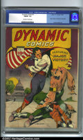 Golden Age (1938-1955):Adventure, Dynamic Comics #1 (Chesler, 1941). In 1941, Harry Chesler tried his luck at the superhero genre by releasing a new line of ...
