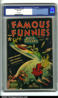 Golden Age (1938-1955):Science Fiction, Famous Funnies #212 (Eastern Color, 1954). One of the higher demandissues in the series, sporting a classic Frank Frazetta ...