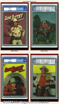Golden Age (1938-1955):Western, Gene Autry Comics Group Lot (Dell, 1955). Great group of Gene AutryComics from an original owner collection. They are b... (Total: 3Item)