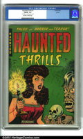 Golden Age (1938-1955):Horror, Haunted Thrills #1 Aurora pedigree (Farrell, 1952). The first issueof this classic pre-code title, this copy hails from a p...
