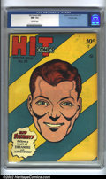 Golden Age (1938-1955):Adventure, Hit Comics #38 Crowley pedigree (Quality, 1945). A near-perfect copy with a very eye-catching cover! No visible defects to s...