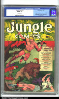 Golden Age (1938-1955):Adventure, Jungle Comics #1 (Fiction House, 1940). One of the classic first issues put out by Fiction House, Jungle Comics #1, alon...