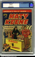 Bronze Age (1970-1979):Humor, Katy Keene #4 (Archie, 1951). America's Pin-Up Queen, Katy Keene is a popular but hard to find title. Classic Bill Woggo...