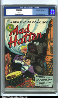 Mad Hatter #1 Mile High pedigree (O.W. Comics, 1946). In this landmark first issue, Freddy the Firefly, a clone of Timel...