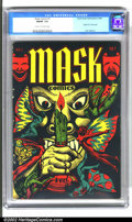 Golden Age (1938-1955):Horror, Mask Comics #1 (Rural Home, 1945). This highly desirable bookfeatures a classic L.B. Cole cover. Covers by Cole are a well...