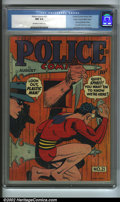 Golden Age (1938-1955):Superhero, Police Comics #21 Mile High pedigree (Quality, 1943). The Spirit appears with Plastic Man in a typically droll cover by Jack...