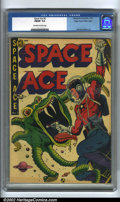 Golden Age (1938-1955):Science Fiction, Pre-Code Science Fiction Lot (Various Publishers, 1952). Includesthe Mile High copy of Space Ace, #5 CGC FN/VF 7.0 Off-... (Total: 2Item)