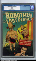 Golden Age (1938-1955):Science Fiction, Robotmen of the Lost Planet #1 (Avon, 1952). Avon is best known forits classic science-fiction comics produced during the g...