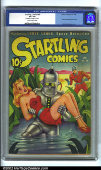 Startling Comics #49 (Better Publications, 1948). During the esoteric boom of the 1990s, a few books rose to the top of...