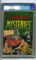 Golden Age (1938-1955):Horror, Strange Mysteries #1 (Superior/Dynamic Publications, 1951). A sharppre-code comic from the golden era of horror, there are ...