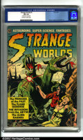Golden Age (1938-1955):Horror, Strange Worlds #3 (Avon, 1951). This comic is legendary for itsamazing assemblage of talent. Stories are contributed by suc...