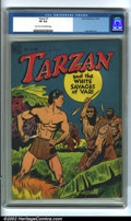 Golden Age (1938-1955):Miscellaneous, Tarzan #1 (Dell, 1948). One of Dell's more popular series, Tarzan enjoyed a run of popularity spanning nearly 30 years. ...