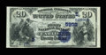 National Bank Notes:Kentucky, Carlisle, KY - $20 1882 Date Back Fr. 555 The First NB Ch. #(S)5959. ...