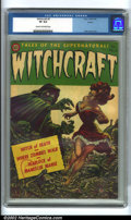 Golden Age (1938-1955):Horror, Witchcraft #5 Aurora pedigree (Avon, 1953). A very popular titleamong pre-code horror fans, this issue of Witchcraft sp...