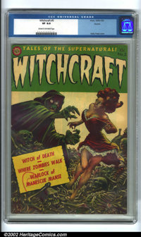 Witchcraft #5 Aurora pedigree (Avon, 1953). A very popular title among pre-code horror fans, this issue of Witchcraft sp...