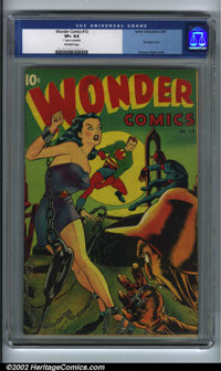 Wonder Comics #12 (Better Publications, 1947). Graham Ingels was commissioned to draw two covers for Wonder, continuing...