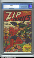 Golden Age (1938-1955):Superhero, Zip Comics #1 (MLJ, 1940). This would be one of MLJ's bread-and-butter books until the advent of the still-popular Archie An...