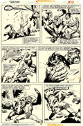 Original Comic Art:Panel Pages, John Buscema - Original Art for Tarzan #5, page 30 (Marvel, 1977). Tarzan, the Lord of the Jungle, comes to life in this act...