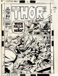 "Original Comic Art:Covers, Jack Kirby - Original Cover Art for Thor #149 (Marvel, 1968).""Twice-up"" Marvel art has become very difficult to obtain ove..."