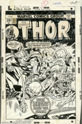 Original Comic Art:Covers, Jack Kirby and John Romita - Original Cover Art for Thor #241(Marvel, 1975). This cover hits on all cylinders. It is a rare...