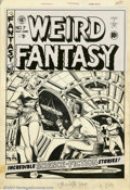 Original Comic Art:Covers, Al Feldstein - Original Cover Art for Weird Fantasy #7 (EC, 1951).This piece incorporates all of the elements that a collec...
