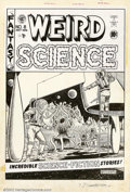 Original Comic Art:Covers, Al Feldstein - Original Cover Art for Weird Science #8 (EC, 1951).A stunning image from EC mainstay Al Feldstein, this is ...
