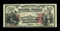 National Bank Notes:Maryland, Baltimore, MD - $20 1875 Fr. 435 The Manufacturers NB Ch. # 2623....