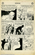 Original Comic Art:Panel Pages, Carmine Infantino - Original Art for Showcase #8 (DC, 1957). Fromthe earliest days of comics' Silver Age comes this stunnin...