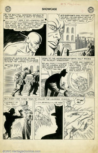 Carmine Infantino - Original Art for Showcase #8 (DC, 1957). From the earliest days of comics' Silver Age comes this stu...