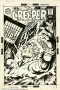 Original Comic Art:Covers, Gil Kane - Original Cover Art for The Creeper #6 (DC, 1969). One ofSteve Ditko's weirdest creations gets the heroic treatme...