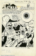 Original Comic Art:Splash Pages, Win Mortimer - Original Art for The Brave and The Bold #64 (DC,1965). This splash by Mortimer provides the full flavor of w...