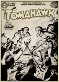 Original Comic Art:Covers, Fred Ray - Original Cover Art for Tomahawk #1 (DC, 1950). We arevery pleased to offer this unique piece of comic book histo...