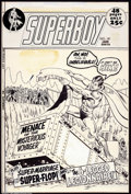 "Original Comic Art:Covers, Curt Swan and Murphy Anderson - Original Cover Art for Superboy#181 (DC, 1972). A wonderful cover image from the ""super"" t..."