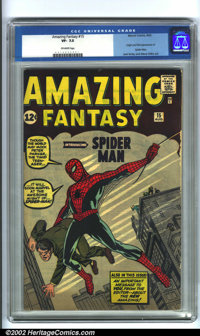 Amazing Fantasy #15 (Marvel, 1962). This book needs no introduction. This first appearance of Spider-Man has been one of...