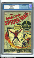 Silver Age (1956-1969):Superhero, The Amazing Spider-Man #1 (Marvel, 1963). A true milestone in theSilver Age, and the book that really established Marvel as...
