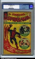 """Silver Age (1956-1969):Superhero, The Amazing Spider-Man #8 (Marvel, 1963). This action-packed """"Tribute to Teenagers"""" issue features Spider-Man's blockbuster ..."""