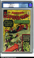 Silver Age (1956-1969):Superhero, The Amazing Spider-Man #14 White Mountain pedigree (Marvel, 1964).One of the most important and in-demand issues in the run...