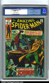 The Amazing Spider-Man #83 Oakland pedigree (Marvel, 1970). High-grade Marvels are consistently the most active area of...