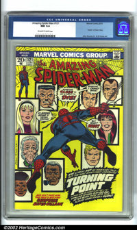 The Amazing Spider-Man #121 (Marvel, 1973). The death of Gwen Stacy was one of the pivotal moments in Spider-Man history...