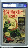 Silver Age (1956-1969):Superhero, Fantastic Four #1 Northland pedigree (Marvel, 1961). A trulyhistoric book, Fantastic Four #1 ushered in the Marvel Age ...
