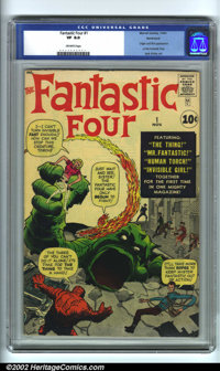 Fantastic Four #1 Northland pedigree (Marvel, 1961). A truly historic book, Fantastic Four #1 ushered in the Marvel Age...
