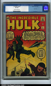 The Incredible Hulk #3 (Marvel, 1962). A memorable issue with the origin of the Hulk retold, along with the first appear...