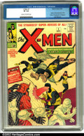 Silver Age (1956-1969):Superhero, X-Men #1 (Marvel, 1963). Who knew? At the time of its originalrelease, X-Men made much less of a splash than some of Ma...