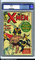 Silver Age (1956-1969):Superhero, X-Men #3 (Marvel, 1964). The X-men face off against the Blob inthis issue, a truly frightening prospect for our Merry Mutan...