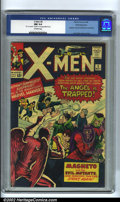 Silver Age (1956-1969):Superhero, X-Men #5 White Mountain pedigree (Marvel, 1964). Stan and Jack havethe X-men facing off against Magneto and his evil Mutant...
